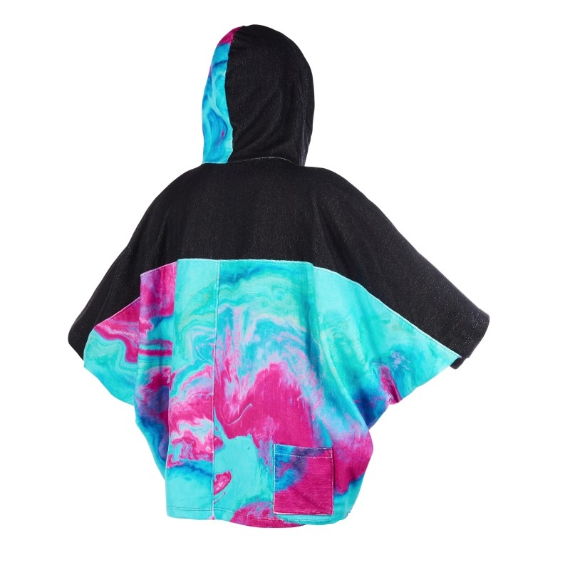 Mystic Poncho Women Back