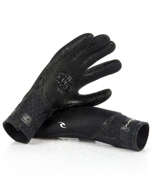 RIP CURL - FLASH BOMB - 5/4 HOODEDFLASHBOMB 3/2 5 FINGER GLOVES