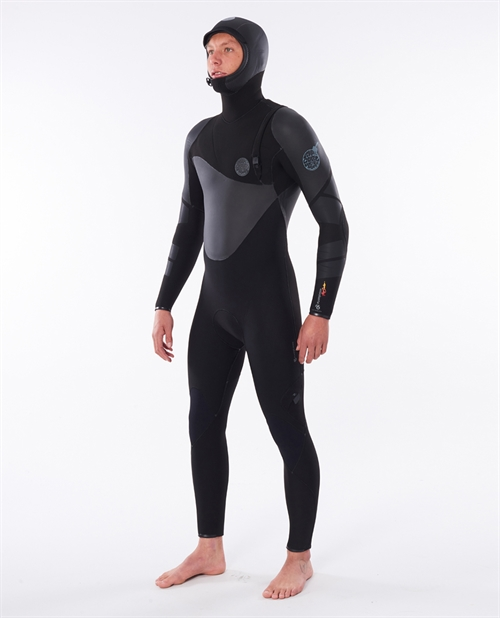 RIP CURLFlashbomb Heat Seeker 5/4 Hooded Wetsuit