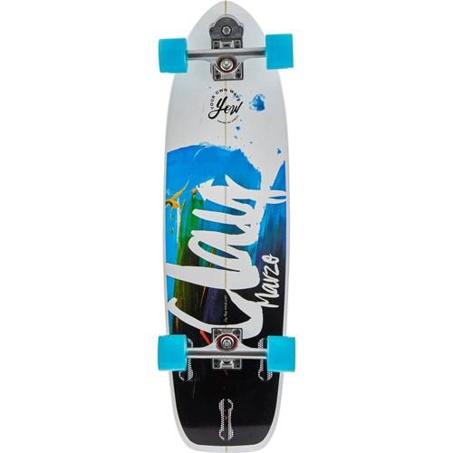 YOUR OWN WAVE CLAY MARZO SURFSKATEBOARD